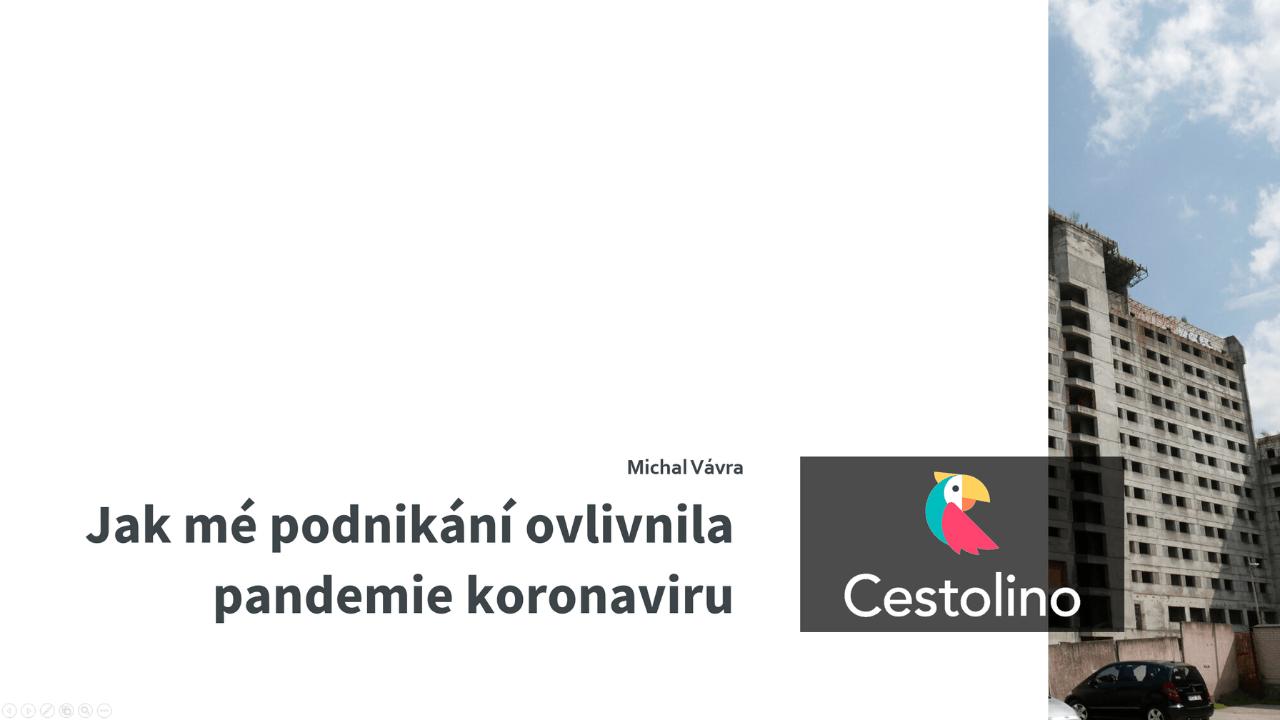 Přednáška na Affiliate konferenci Jak Cestolino.cz ovlivnila pandemie koronaviru